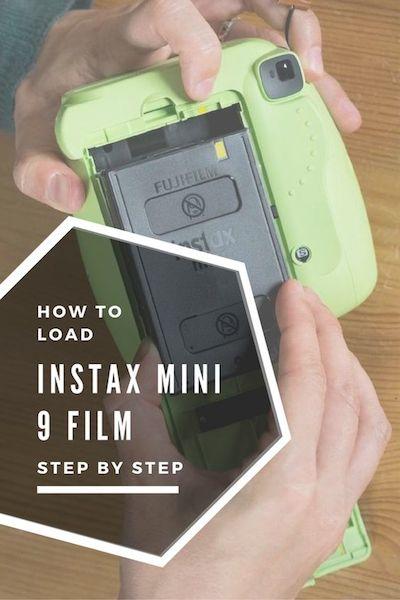 how to load instax mini 9 film
