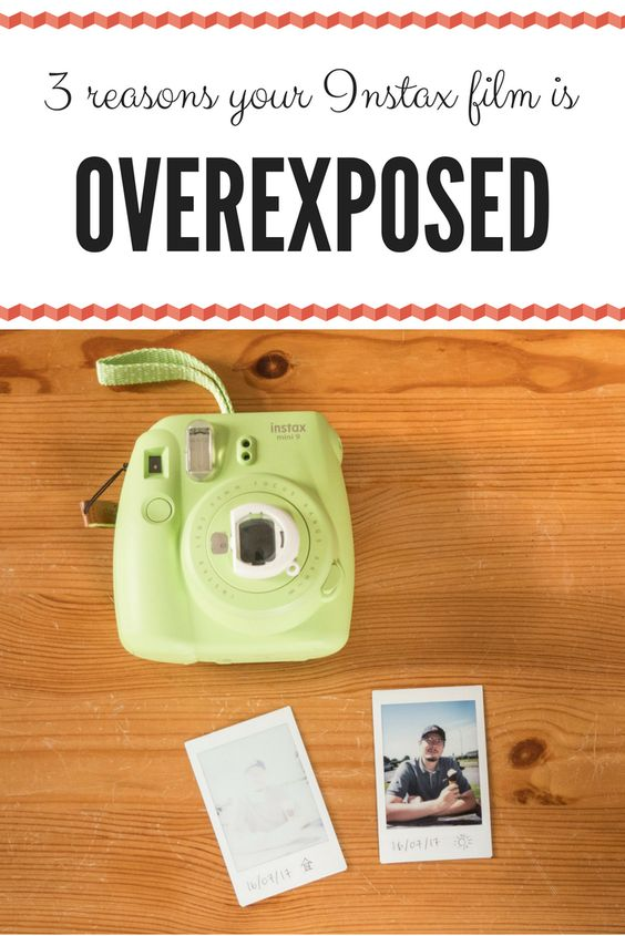 instax mini 9 blank overexposed light images