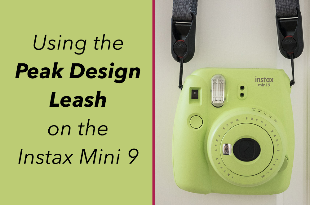 peak design leash instax mini 9 strap