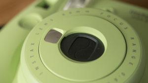 using selfie lens instax mini