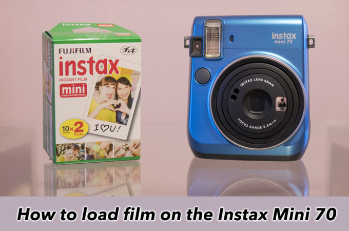 how to load film instax mini 70