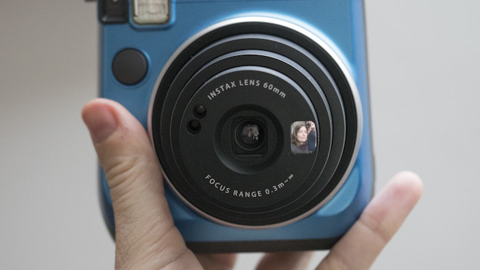 instax mini 70 selfie mode