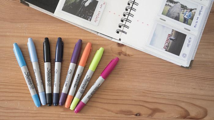 pen for instax film