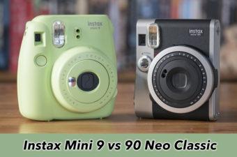 instax mini 9 vs 90 neo classic