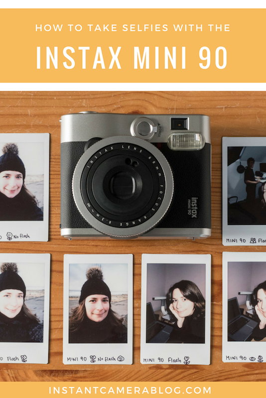how to take selfies instax mini 90