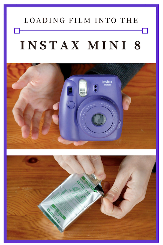 loading film into the instax mini 8 a how to guide. Black Bedroom Furniture Sets. Home Design Ideas