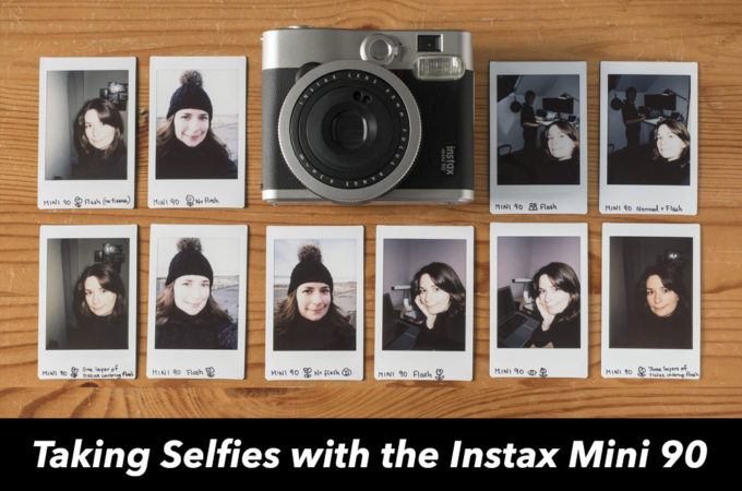 How to Take Selfies with the Instax Mini 90