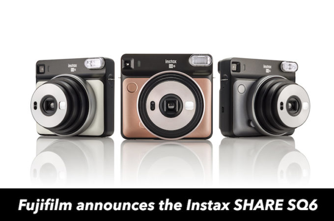 "Say hello to the ""beautifully square"" Fujifilm Instax SQUARE SQ6!"