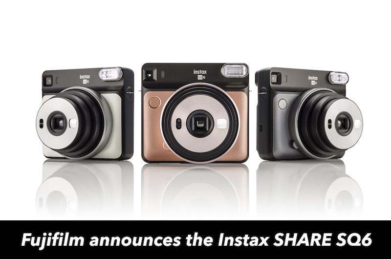 "Say hello to the ""beautifully square"" Fujifilm Instax SQUARE"
