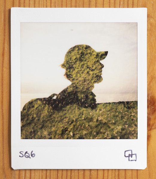 double exposure with instax square sq6