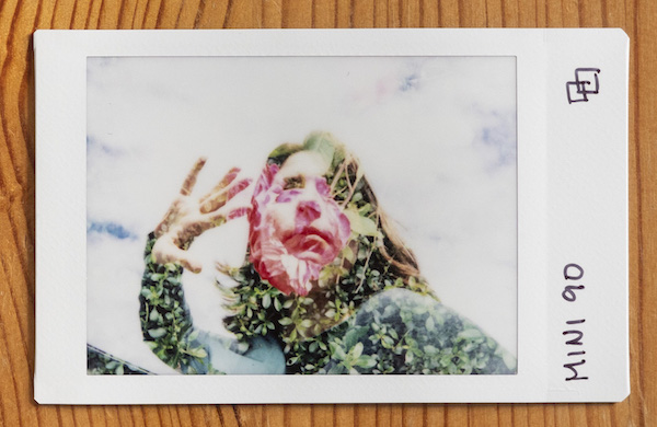 double exposures with the instax mini 90 neo classic
