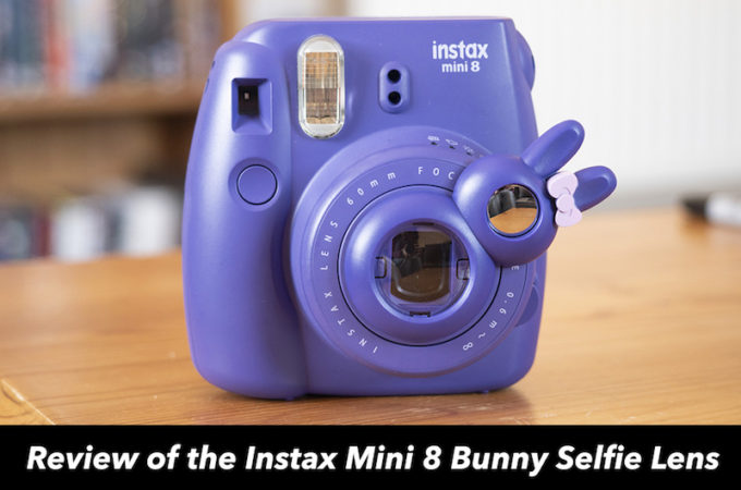 instax mini 8 bunny selfie lens review