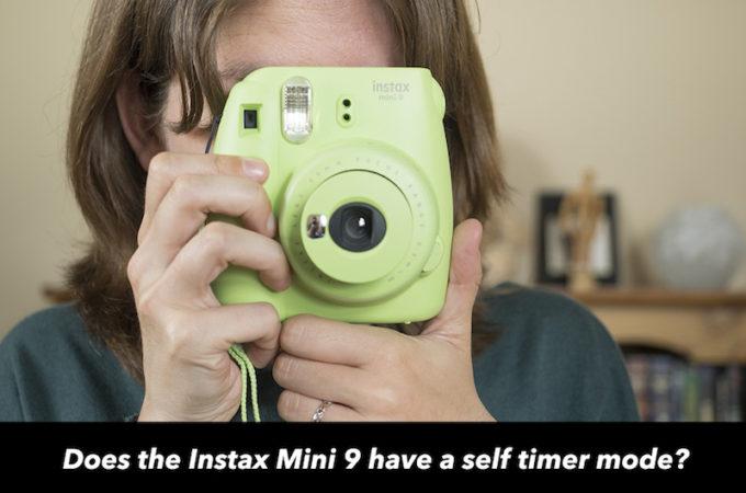 instax mini 9 timer